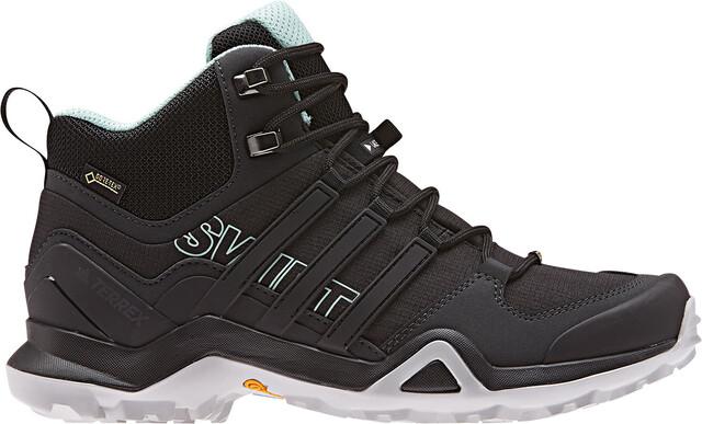 adidas TERREX Swift R2 Mid GTX Schoenen Dames, core black/core black/ash  green